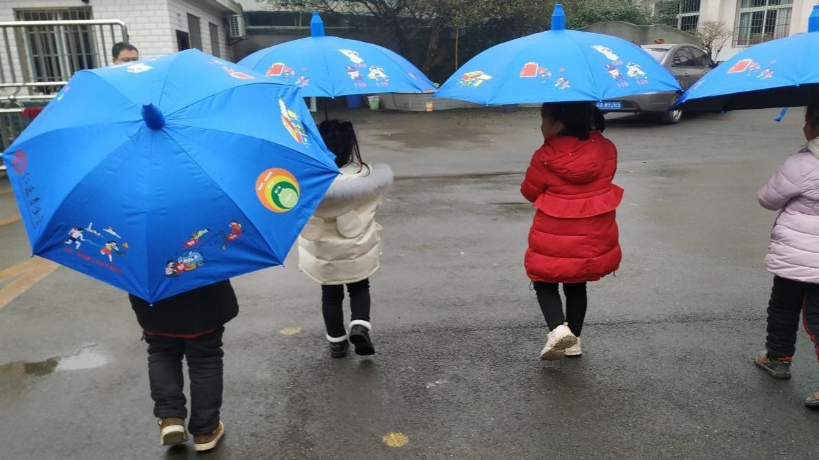 为儿童撑起安全伞2