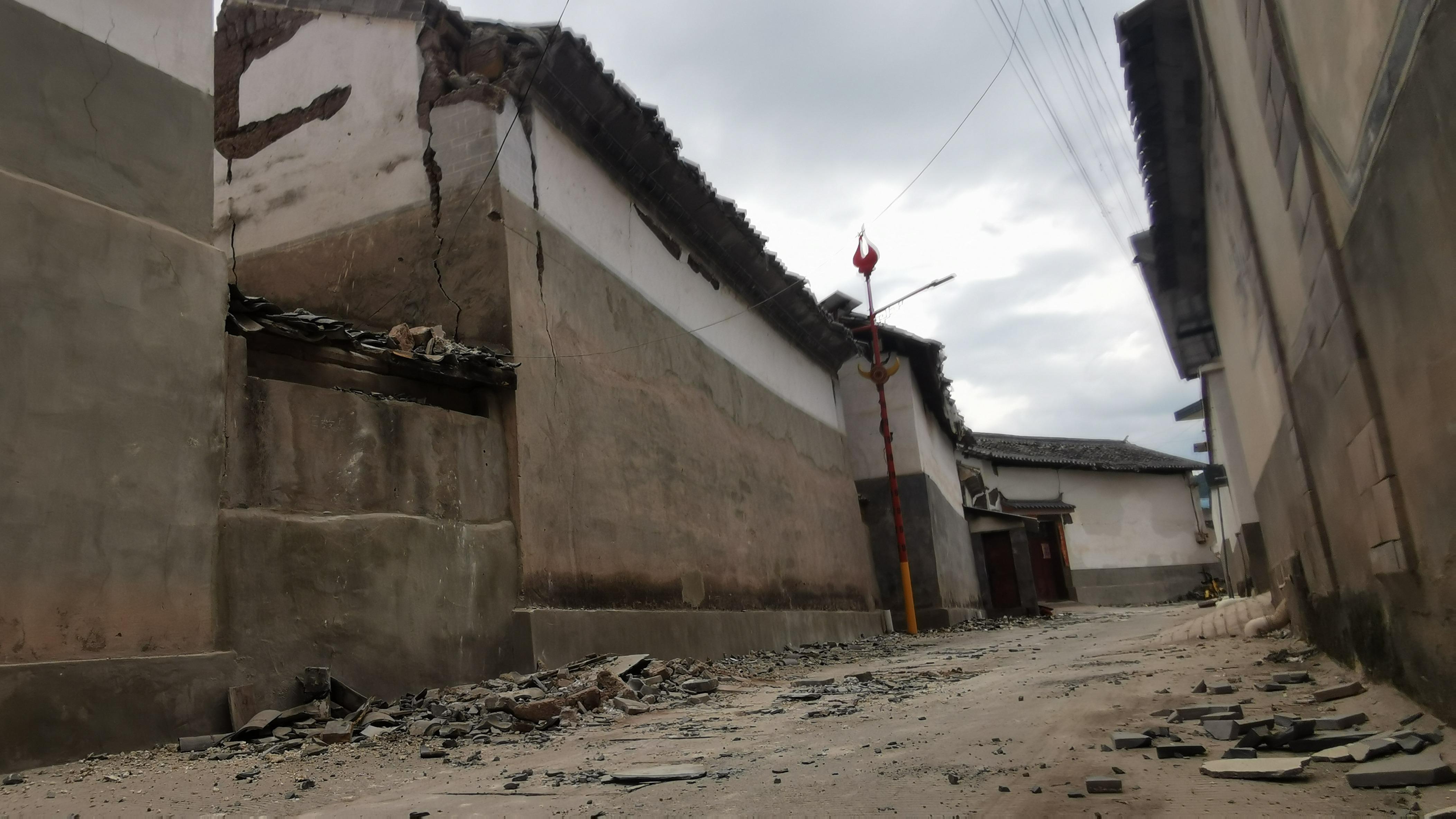 漾濞地震救援行动