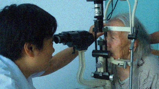 白内障重见光明项目